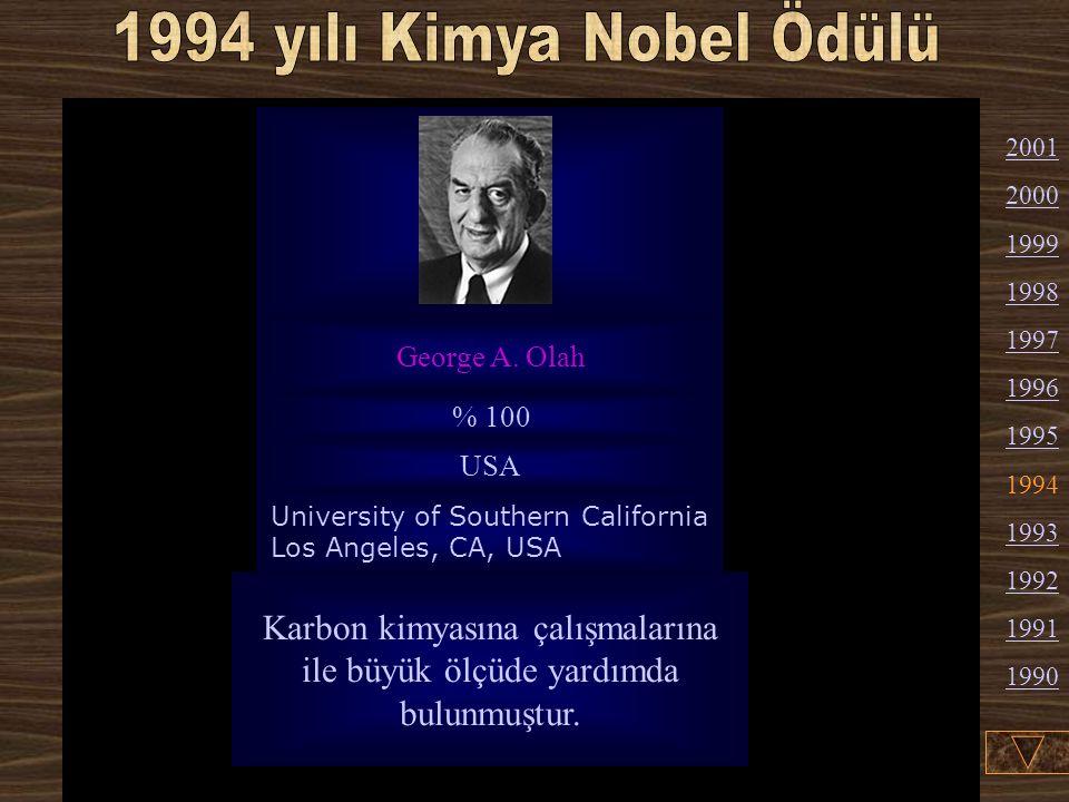 Karbon kimyasına çalışmalarına ile büyük ölçüde yardımda bulunmuştur.
