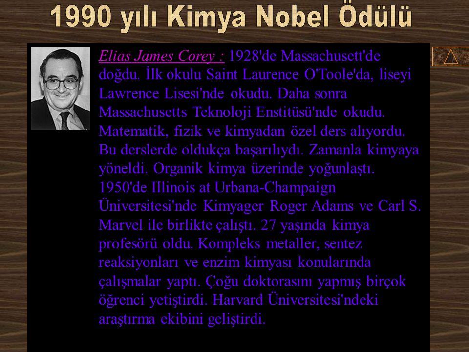 1990 yılı Kimya Nobel Ödülü