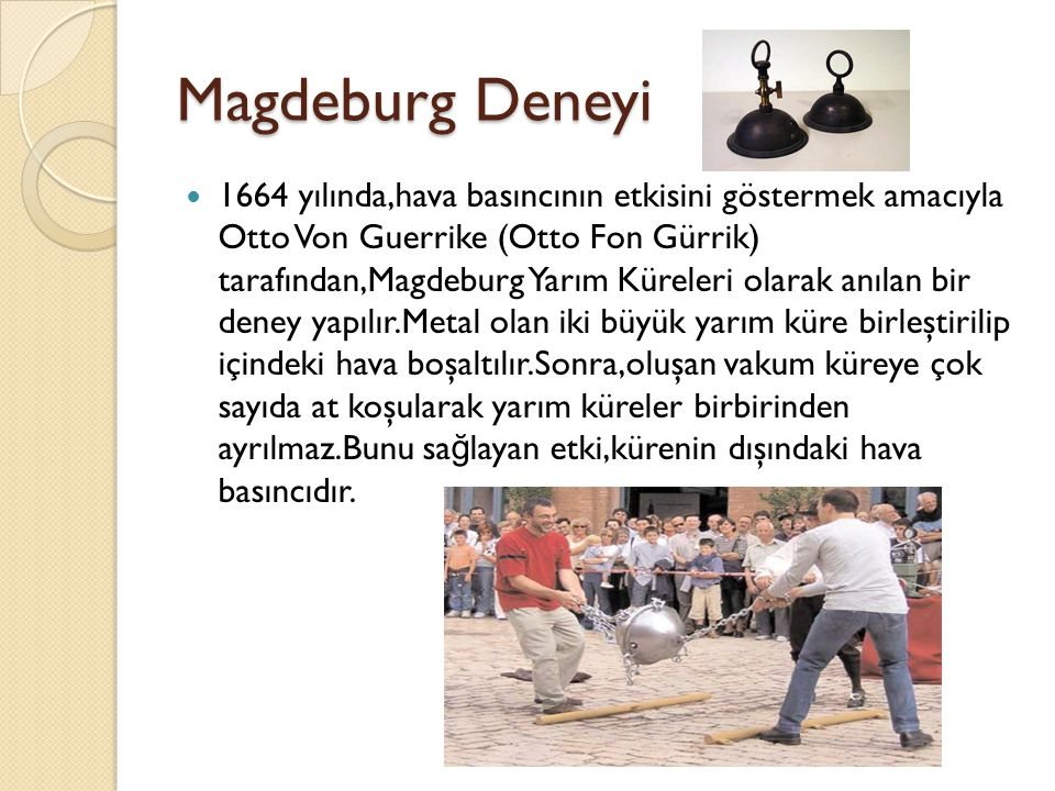 Magdeburg Deneyi