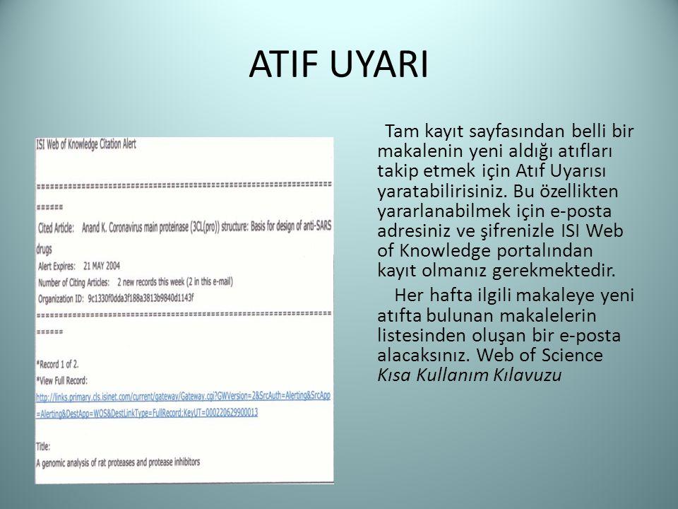 ATIF UYARI