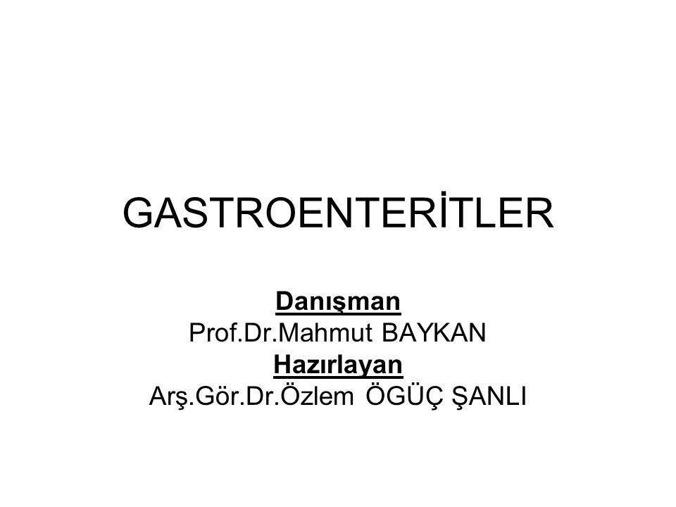 Danışman Prof.Dr.Mahmut BAYKAN Hazırlayan Arş.Gör.Dr.Özlem ÖGÜÇ ŞANLI