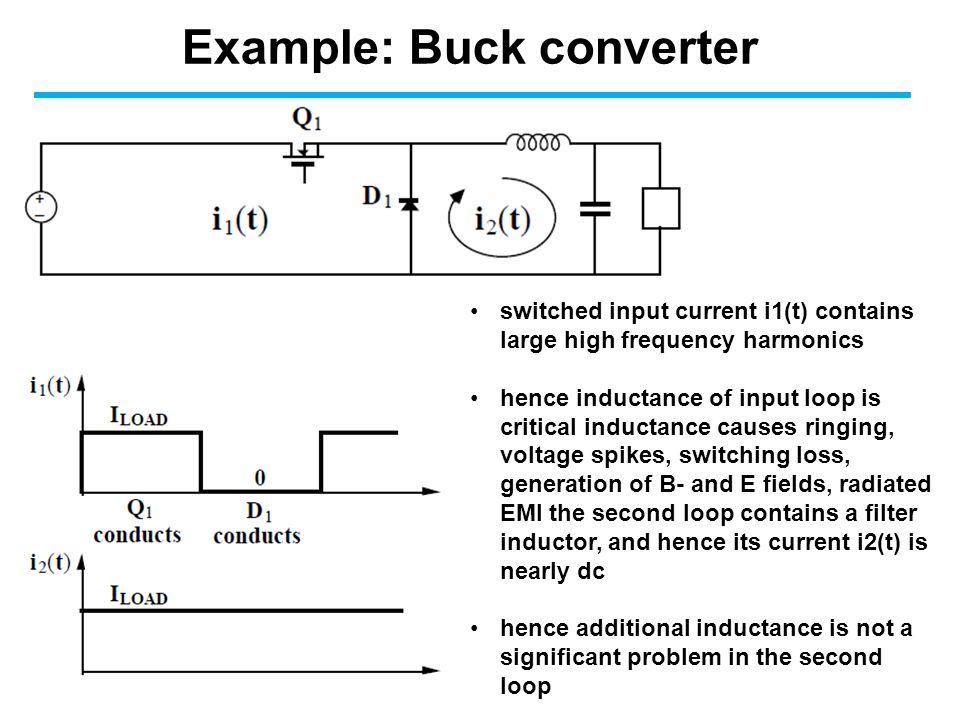 Example: Buck converter