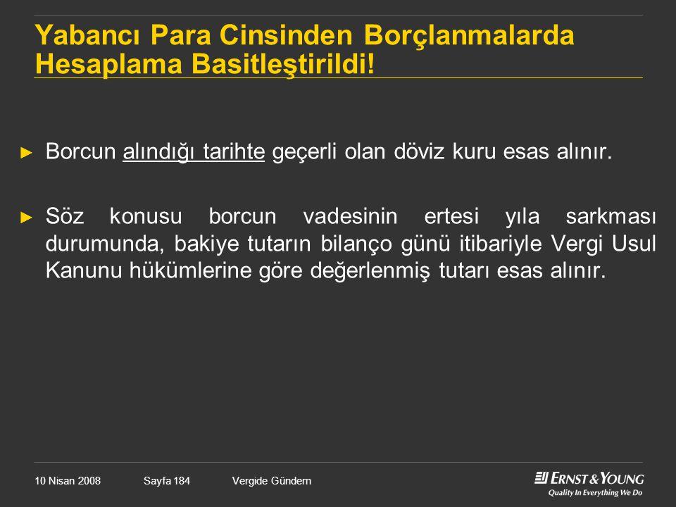 Yabancı Para Cinsinden Borçlanmalarda Hesaplama Basitleştirildi!