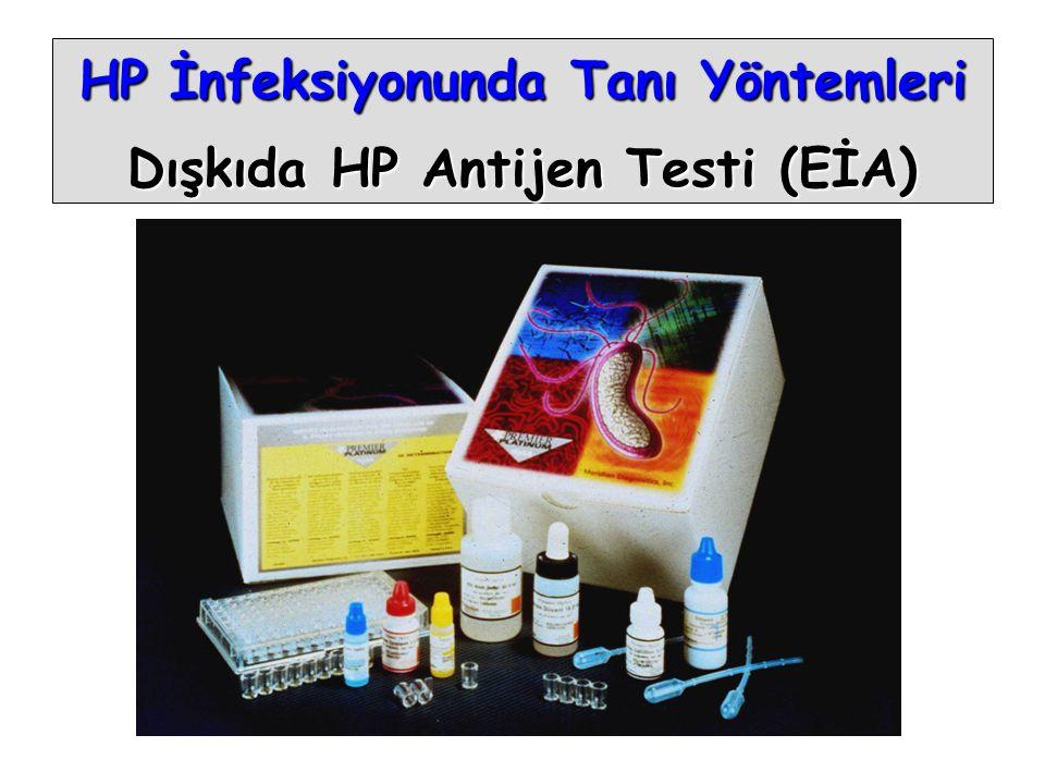HP İnfeksiyonunda Tanı Yöntemleri Dışkıda HP Antijen Testi (EİA)