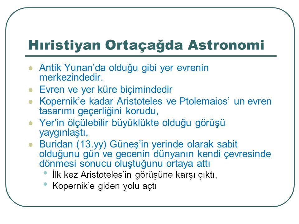 Hıristiyan Ortaçağda Astronomi
