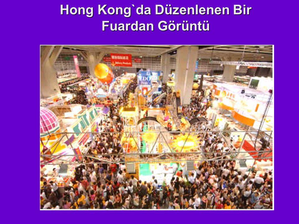 Hong Kong`da Düzenlenen Bir Fuardan Görüntü
