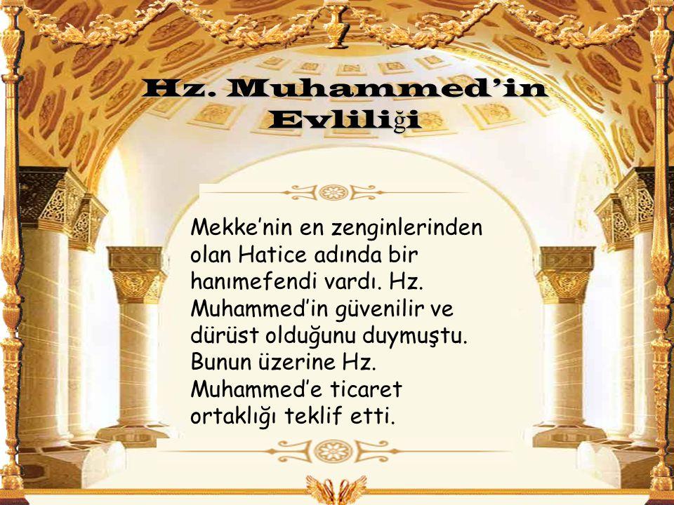 Hz. Muhammed'in Evliliği