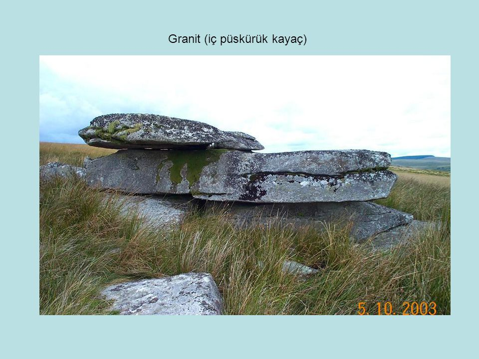 Granit (iç püskürük kayaç)