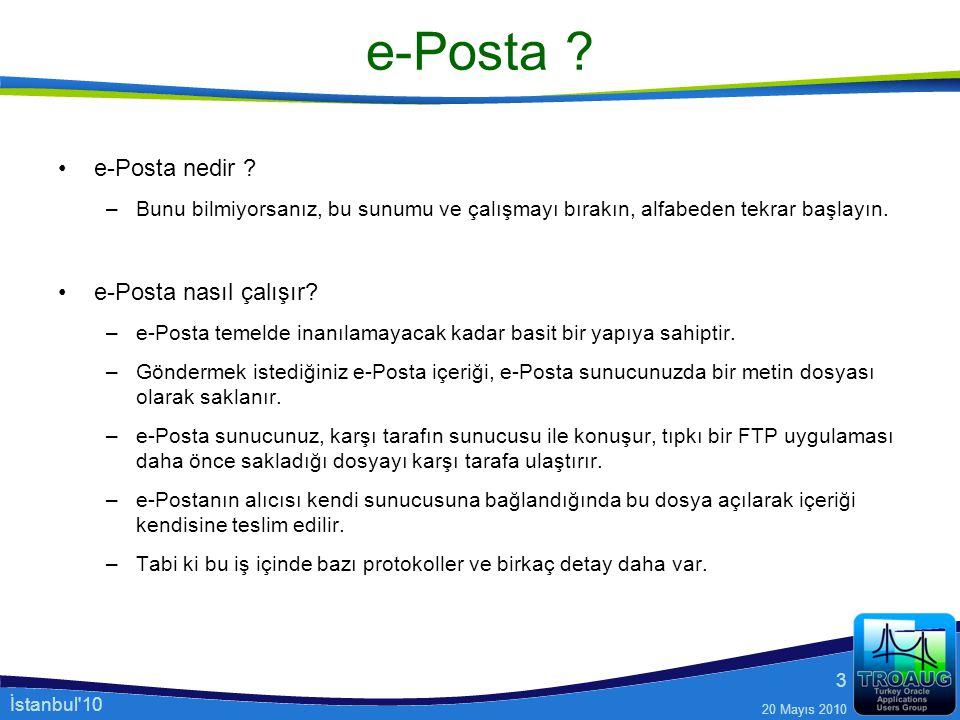 e-Posta e-Posta nedir e-Posta nasıl çalışır