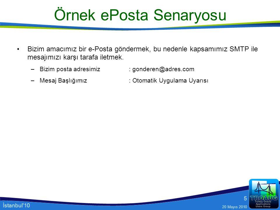 Örnek ePosta Senaryosu
