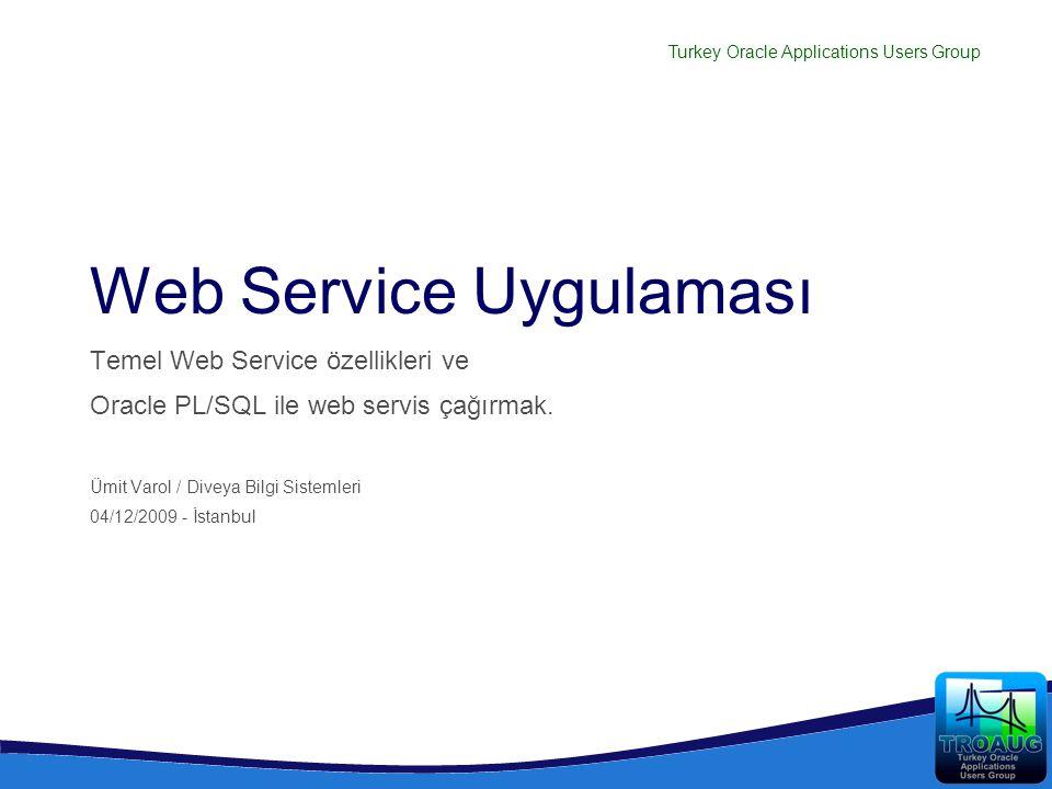 Web Service Uygulaması