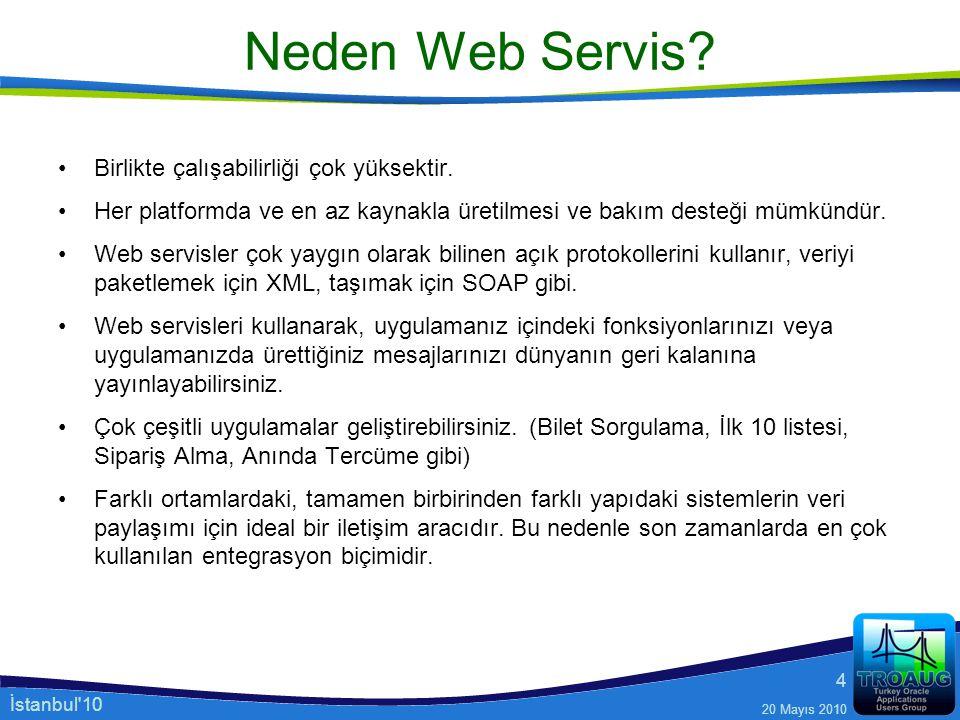 Neden Web Servis Birlikte çalışabilirliği çok yüksektir.