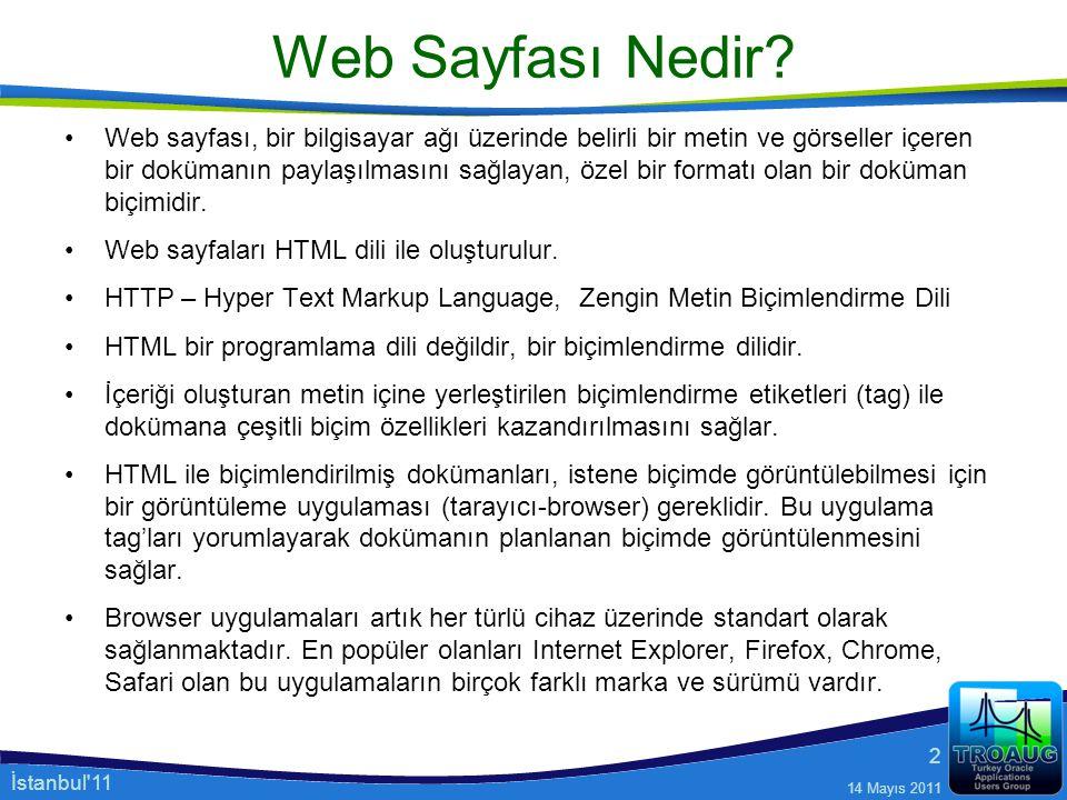 Web Sayfası Nedir