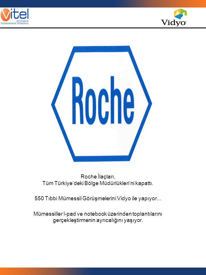 Roche İlaçları, Tüm Türkiye'deki Bölge Müdürlükleri'ni kapattı.