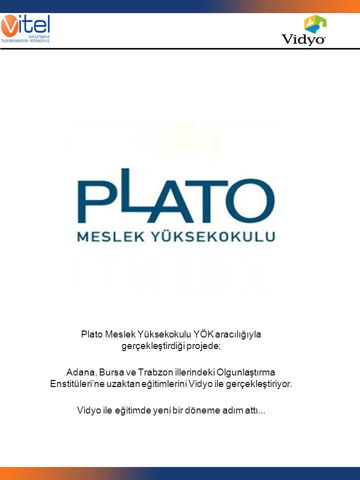 Plato Meslek Yüksekokulu YÖK aracılığıyla gerçekleştirdiği projede;