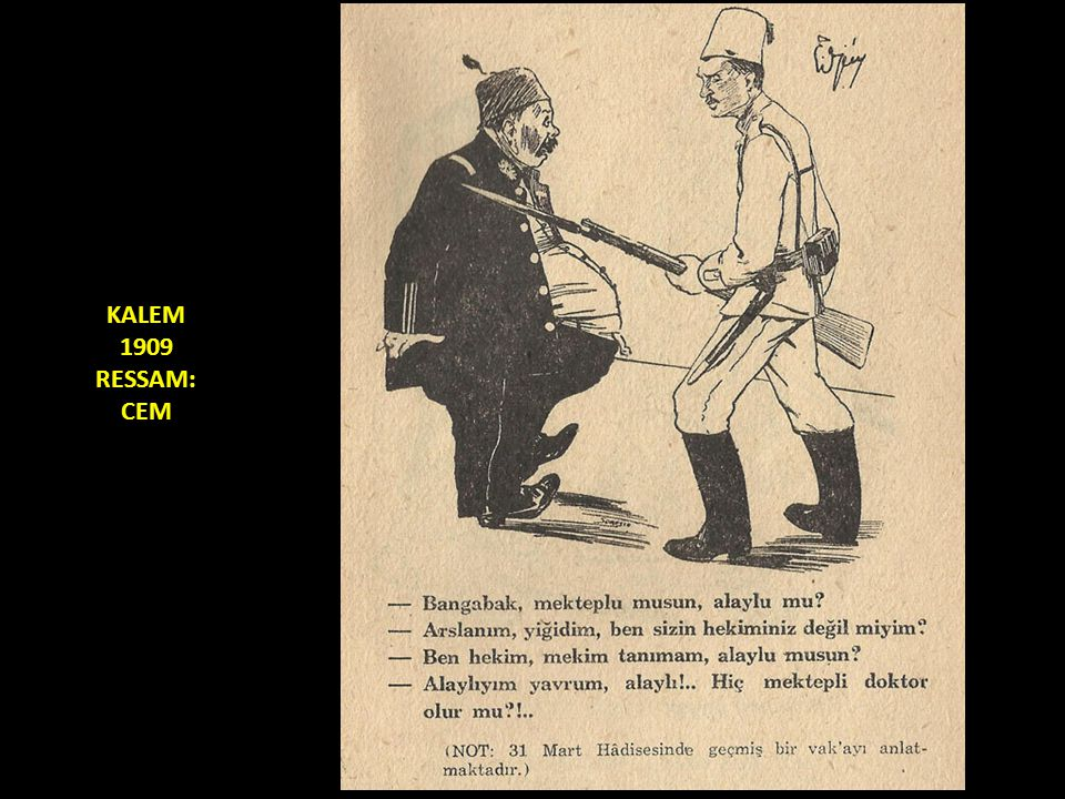 KALEM 1909 RESSAM: CEM