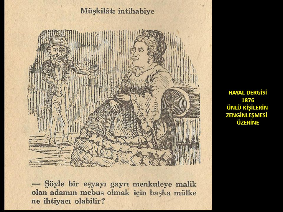 HAYAL DERGİSİ 1876 ÜNLÜ KİŞİLERİN ZENGİNLEŞMESİ ÜZERİNE