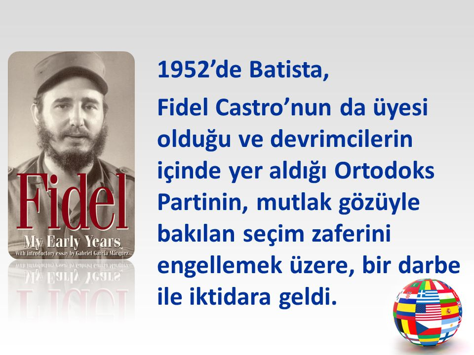 1952'de Batista,