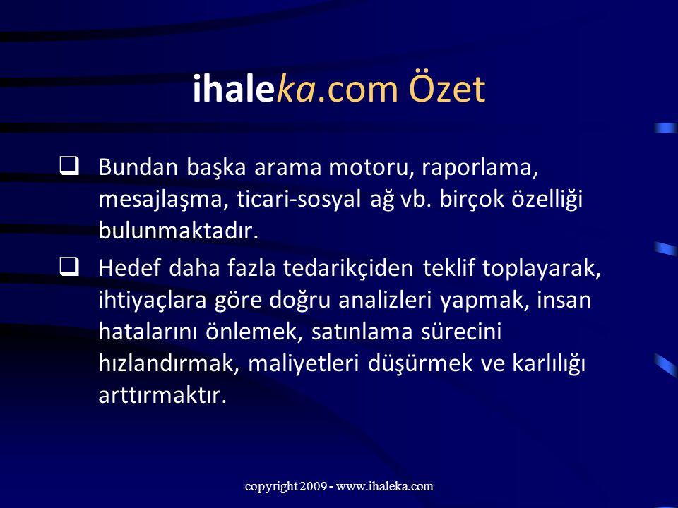 copyright 2009 - www.ihaleka.com