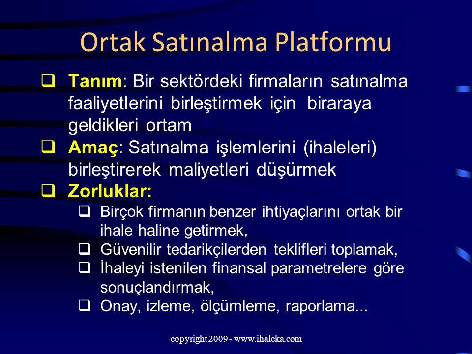 Ortak Satınalma Platformu