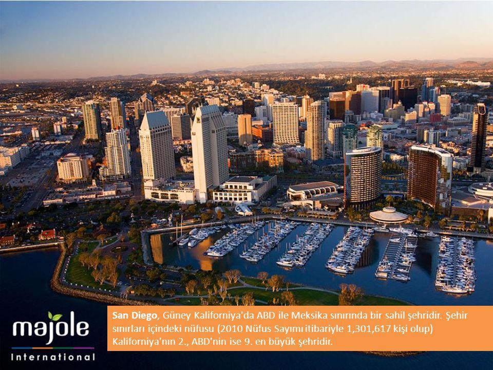 San Diego, Güney Kaliforniya da ABD ile Meksika sınırında bir sahil şehridir. Şehir sınırları içindeki nüfusu (2010 Nüfus Sayımı itibariyle 1,301,617 kişi olup) Kaliforniya nın 2., ABD nin ise 9. en büyük şehridir.
