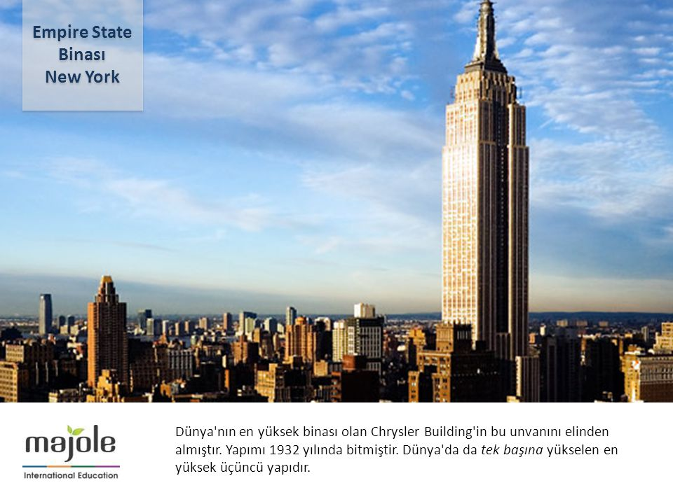 Empire State Binası New York