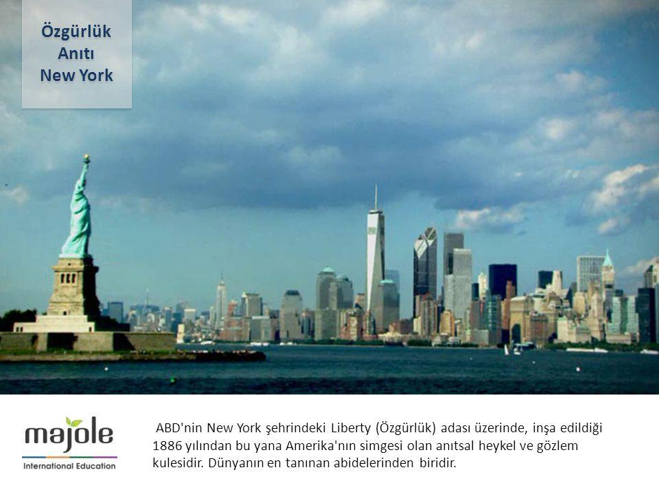 Özgürlük Anıtı New York
