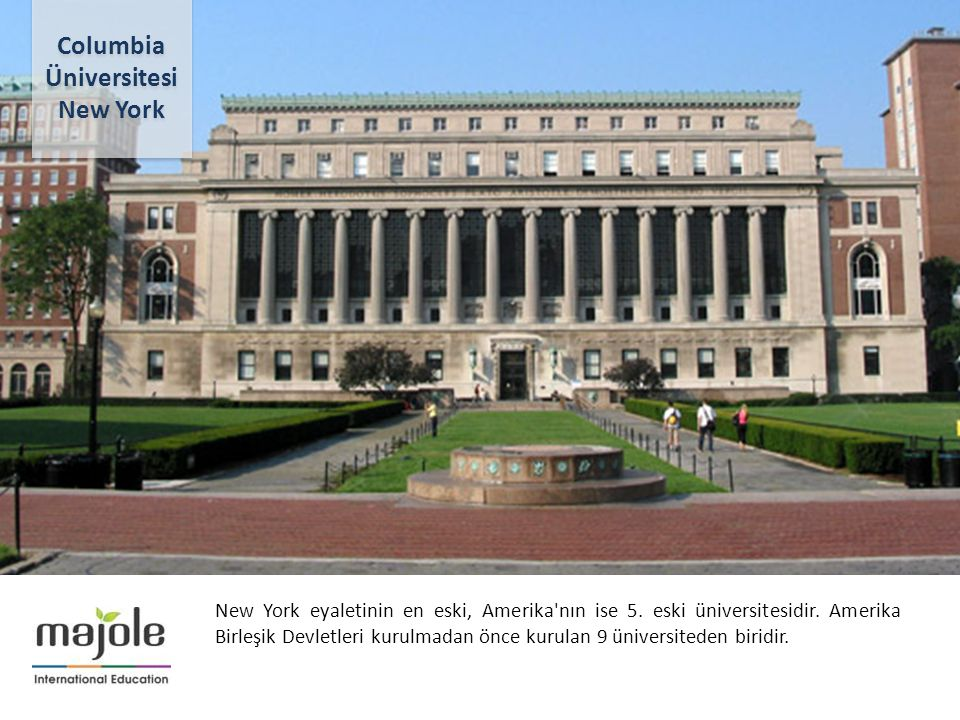 Columbia Üniversitesi New York