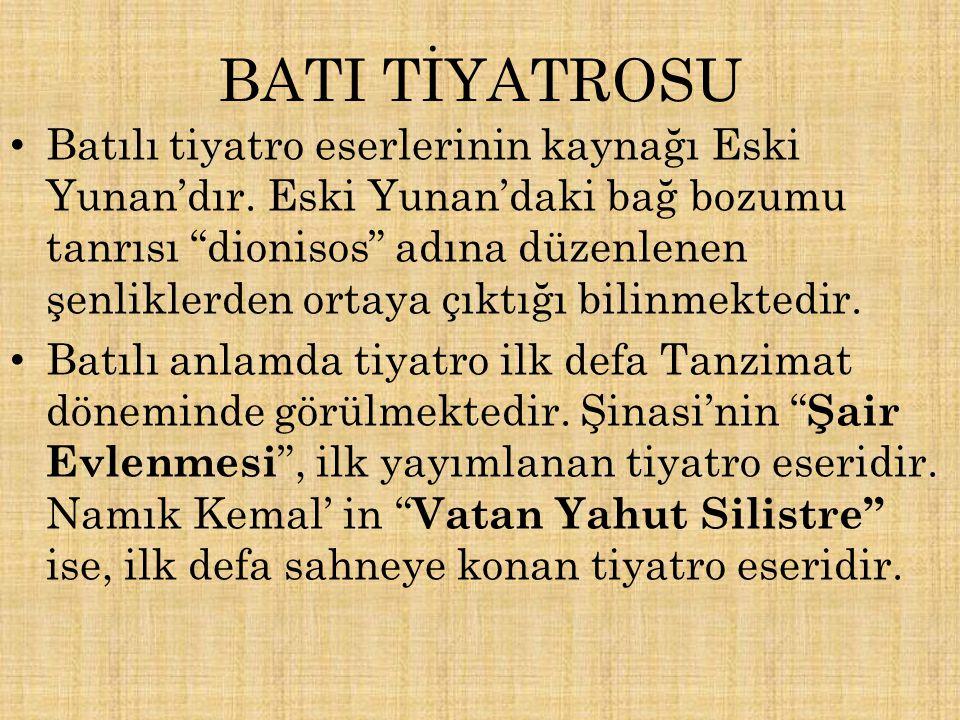 BATI TİYATROSU