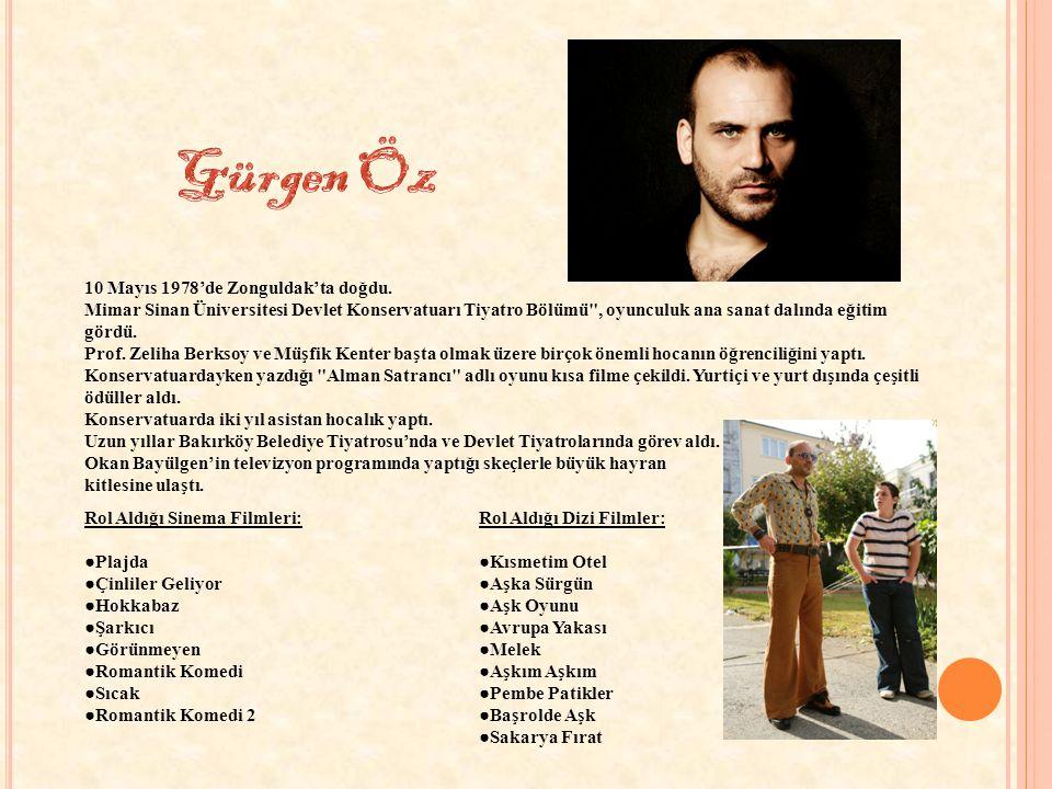 Gürgen Öz 10 Mayıs 1978'de Zonguldak'ta doğdu.