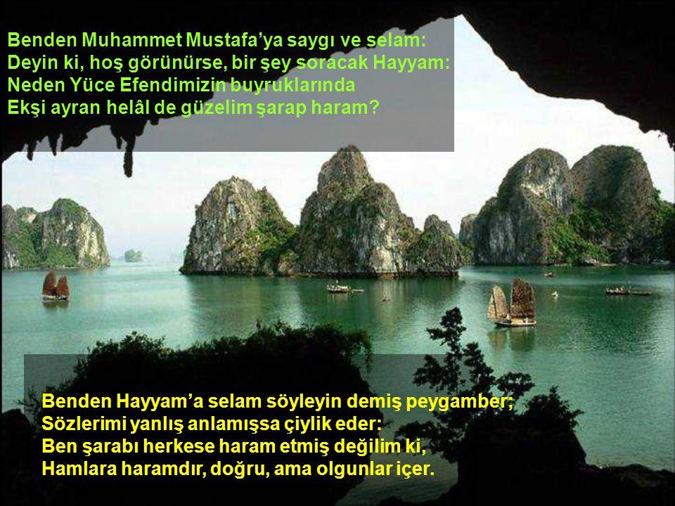 Benden Muhammet Mustafa'ya saygı ve selam: