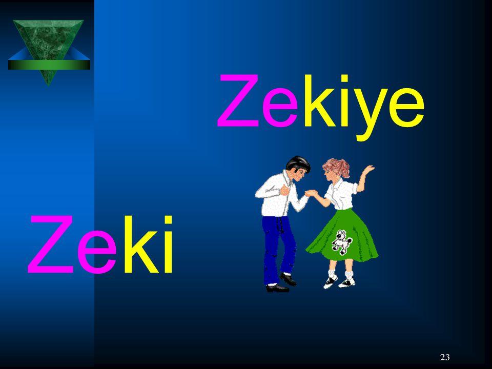 Zekiye Zeki