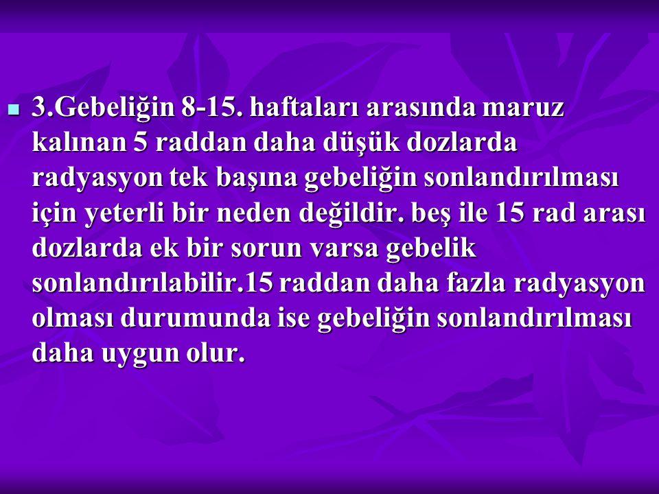 3.Gebeliğin 8-15.