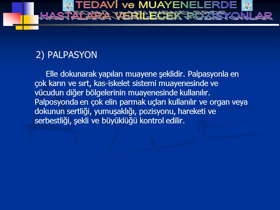 2) PALPASYON