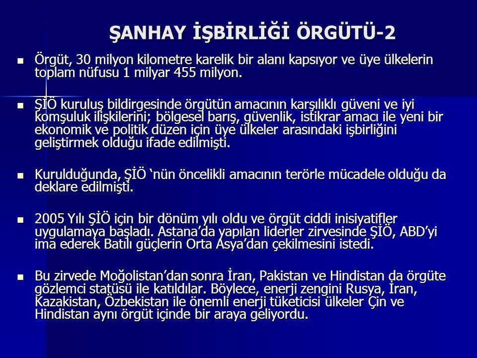 ŞANHAY İŞBİRLİĞİ ÖRGÜTÜ-2