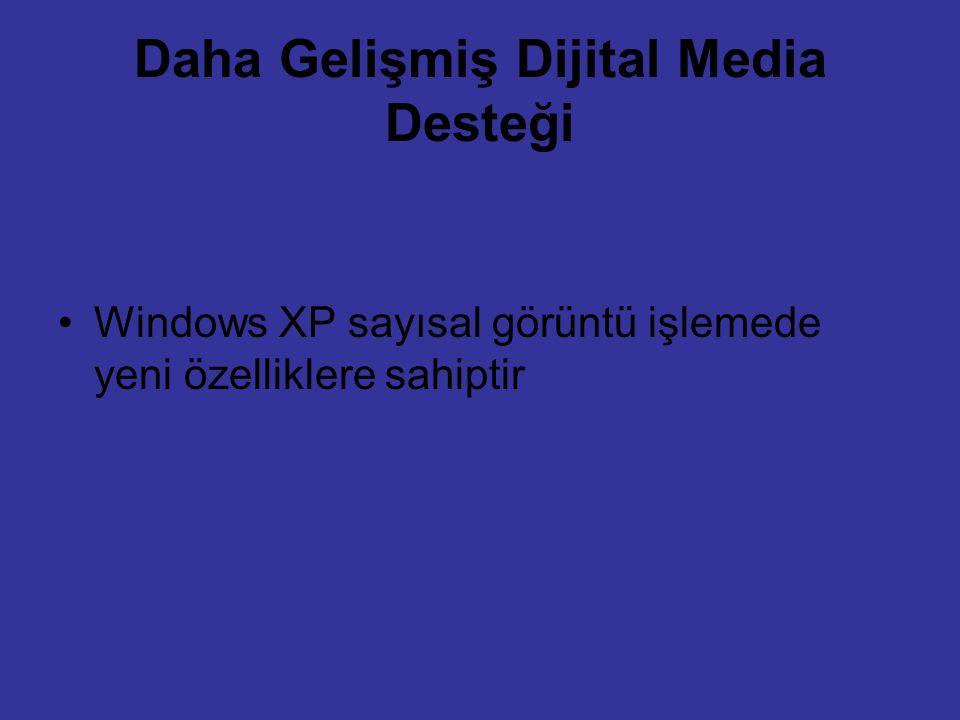 Daha Gelişmiş Dijital Media Desteği