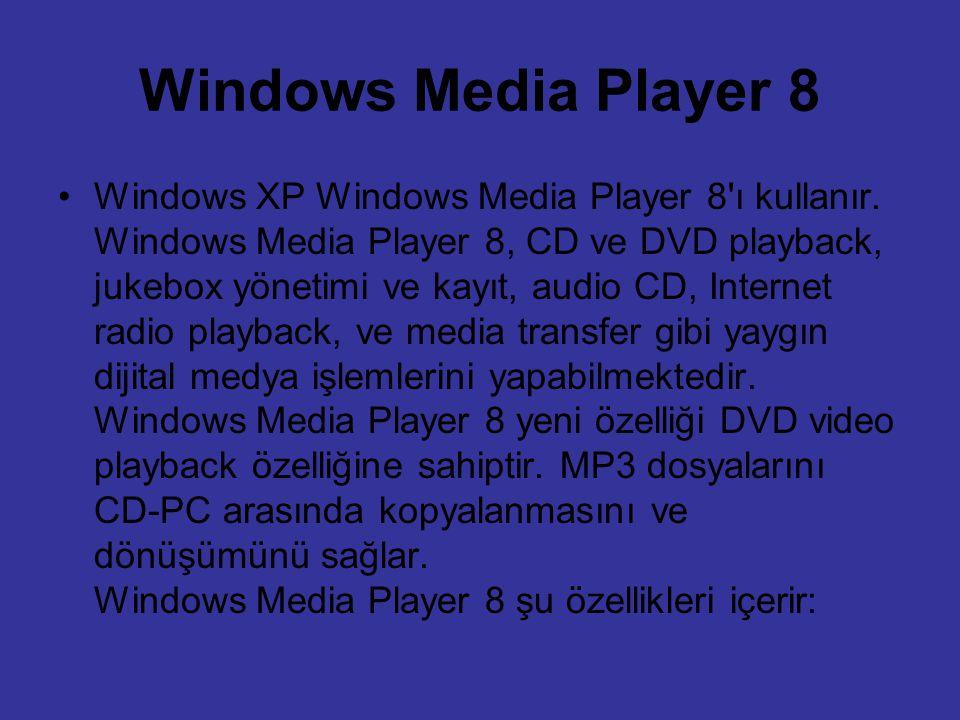 Windows Media Player 8