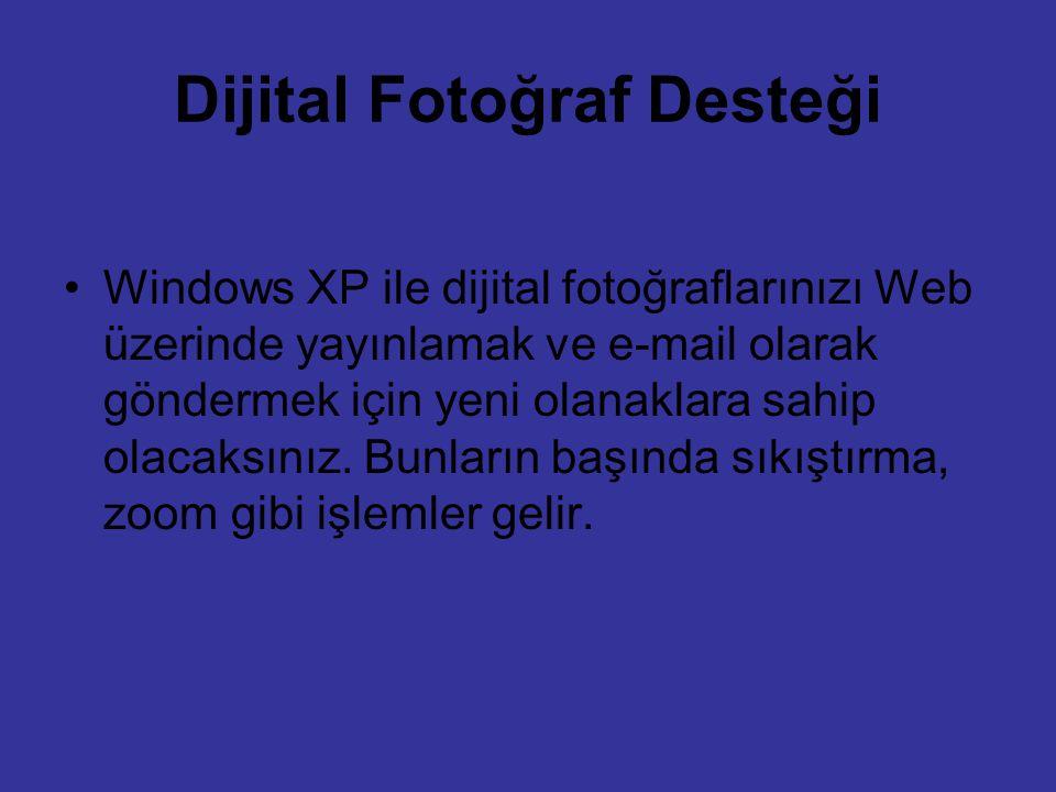 Dijital Fotoğraf Desteği