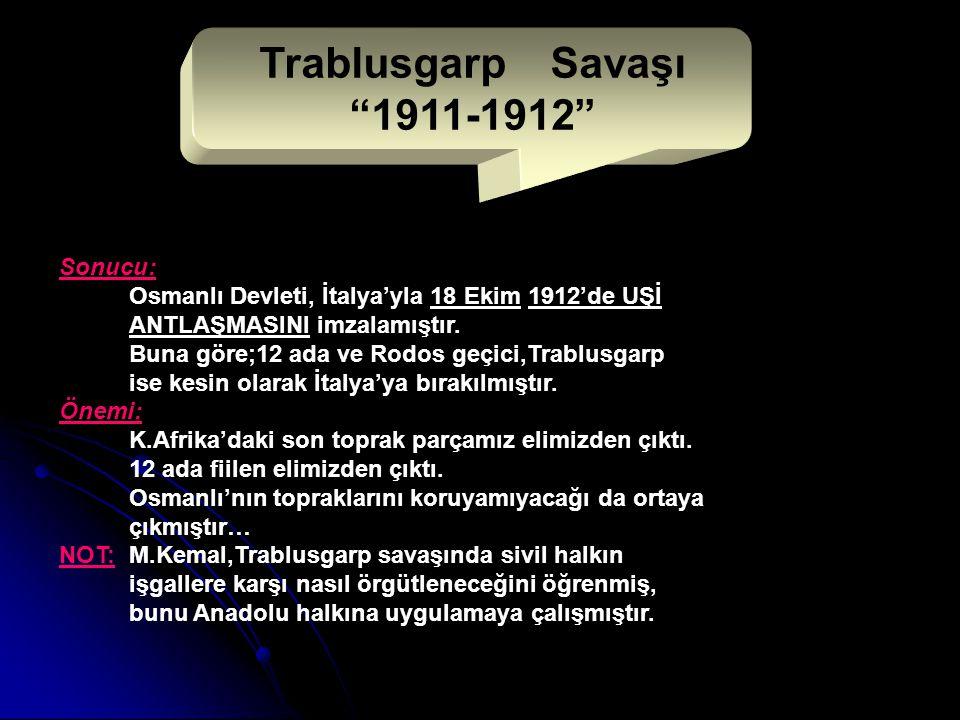 Trablusgarp Savaşı 1911-1912