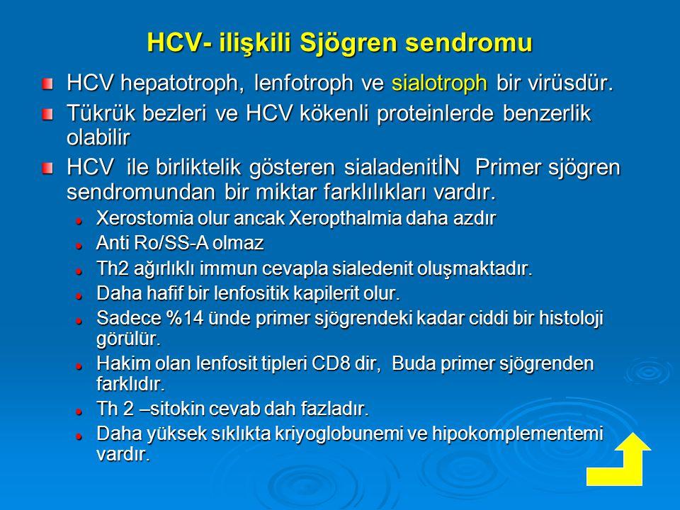 HCV- ilişkili Sjögren sendromu