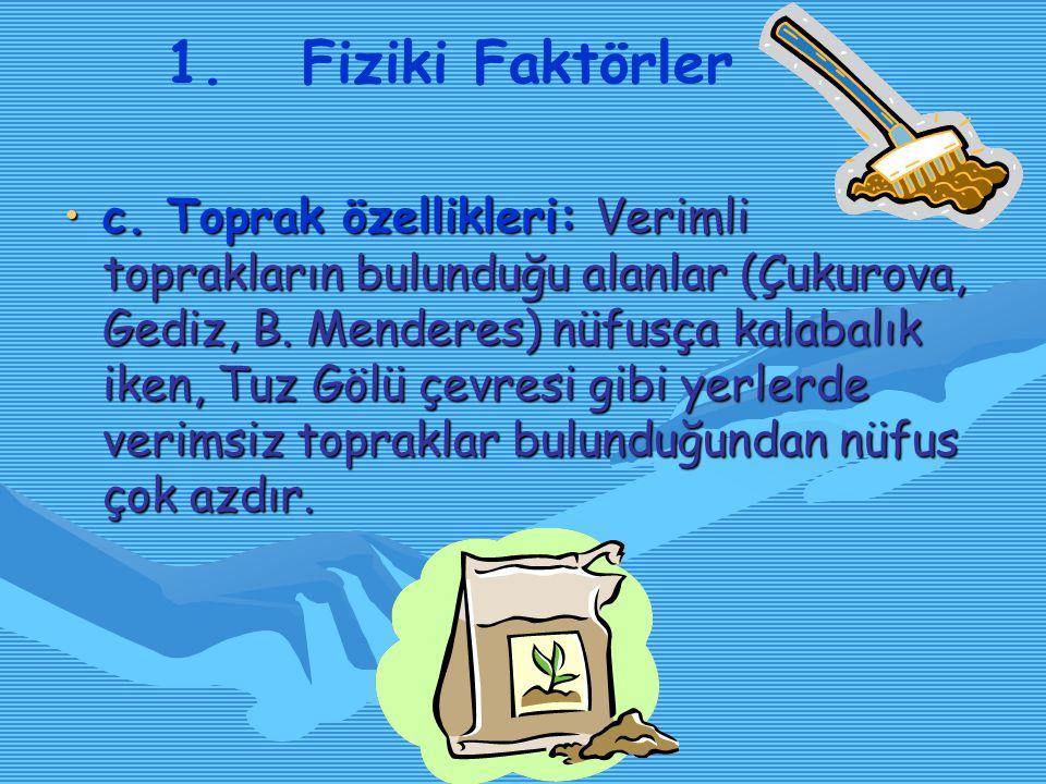 1. Fiziki Faktörler