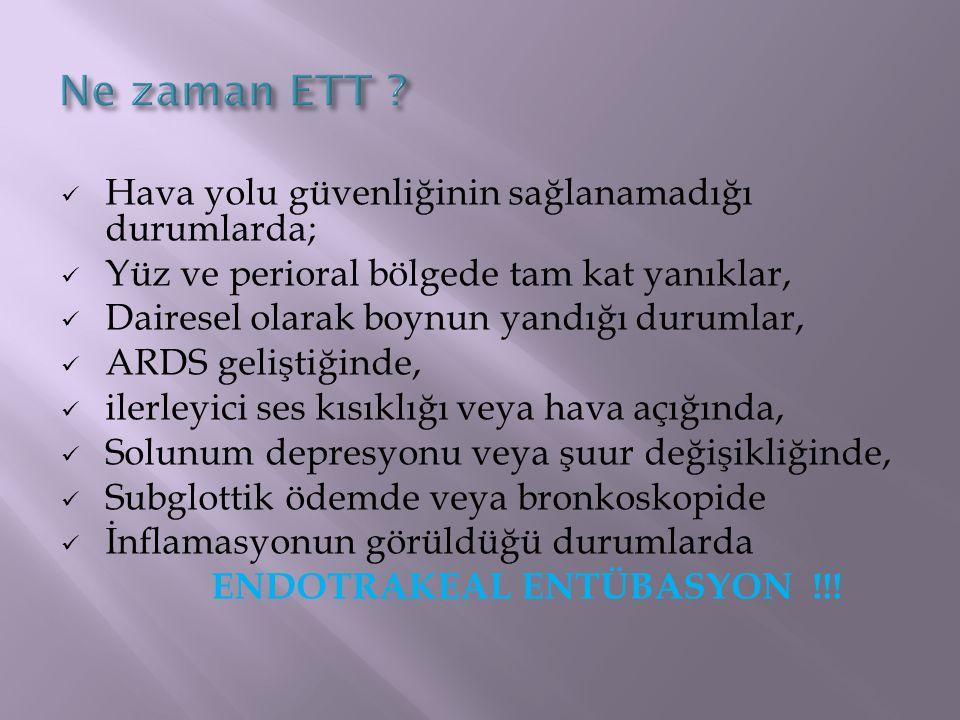 ENDOTRAKEAL ENTÜBASYON !!!
