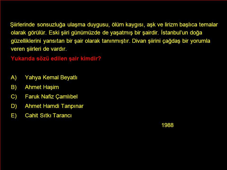 Şiirlerinde sonsuzluğa ulaşma duygusu, ölüm kaygısı, aşk ve lirizm başlıca temalar olarak görülür. Eski şiiri günümüzde de yaşatmış bir şairdir. İstanbul'un doğa güzelliklerini yansıtan bir şair olarak tanınmıştır. Divan şiirini çağdaş bir yorumla veren şiirleri de vardır.