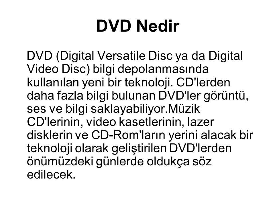 DVD Nedir