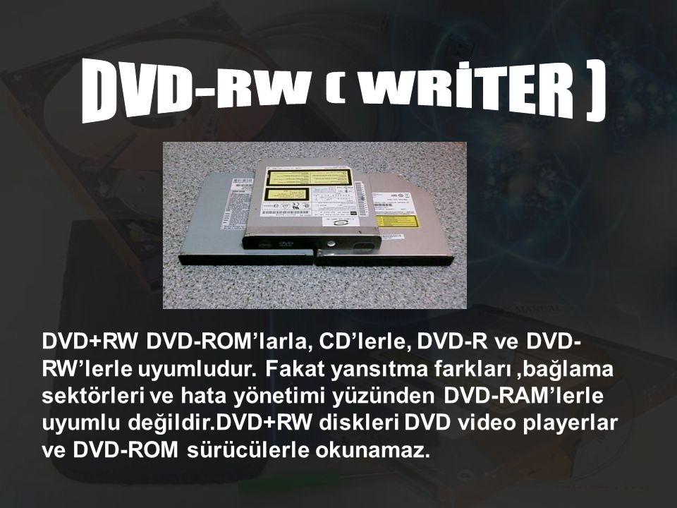 DVD-RW ( WRİTER )