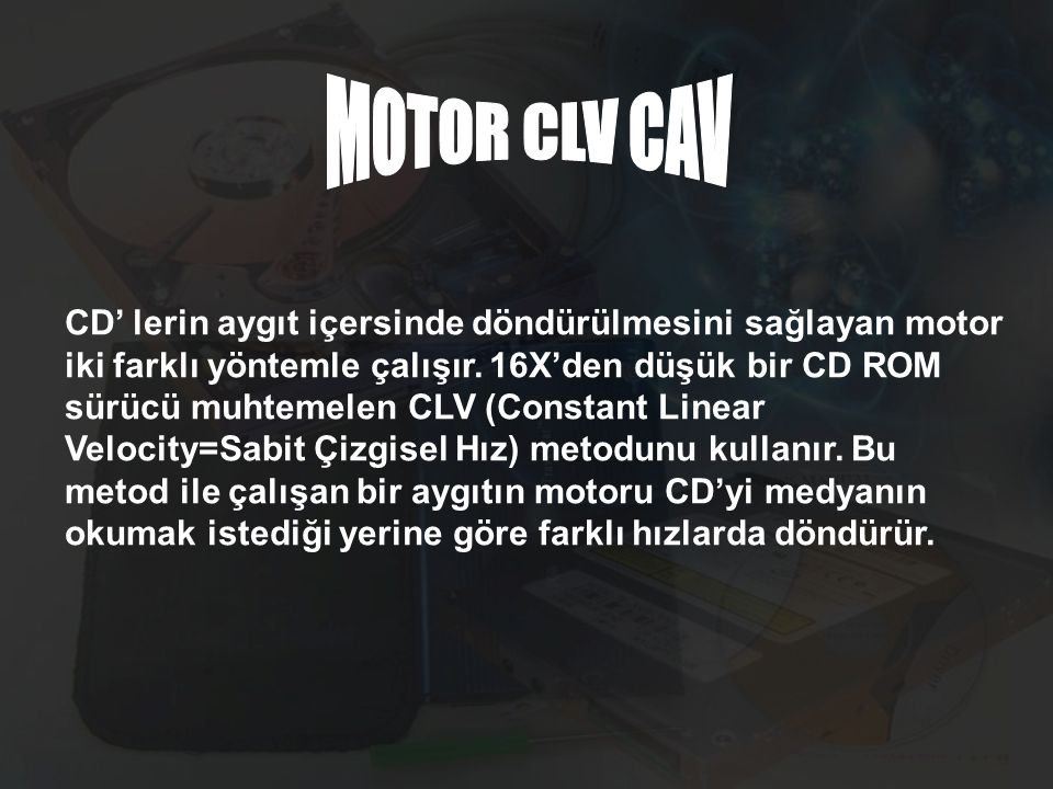 MOTOR CLV CAV