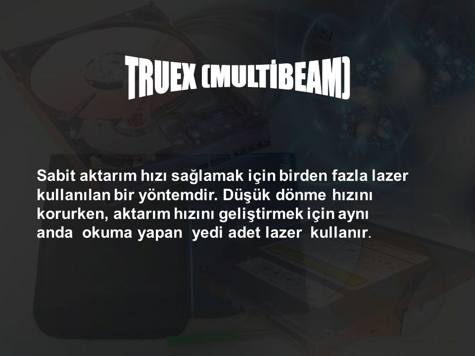 TRUEX (MULTİBEAM)