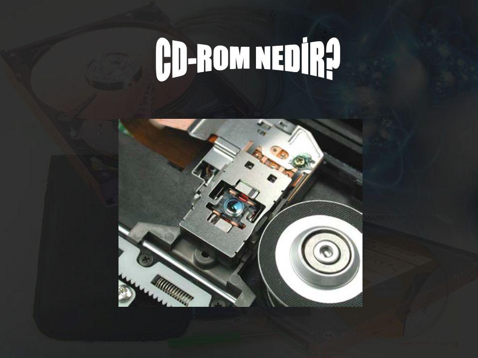 CD-ROM NEDİR