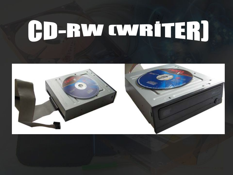 CD-RW (WRİTER)