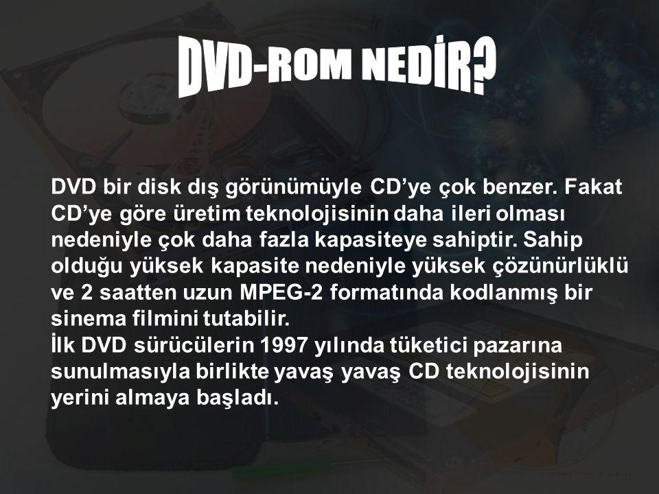 DVD-ROM NEDİR